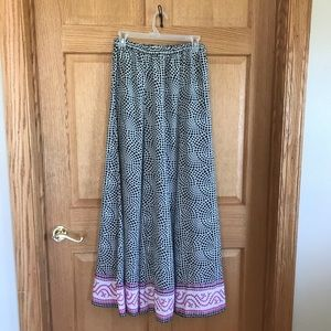 Soft surroundings, Beautiful full maxi skirt
